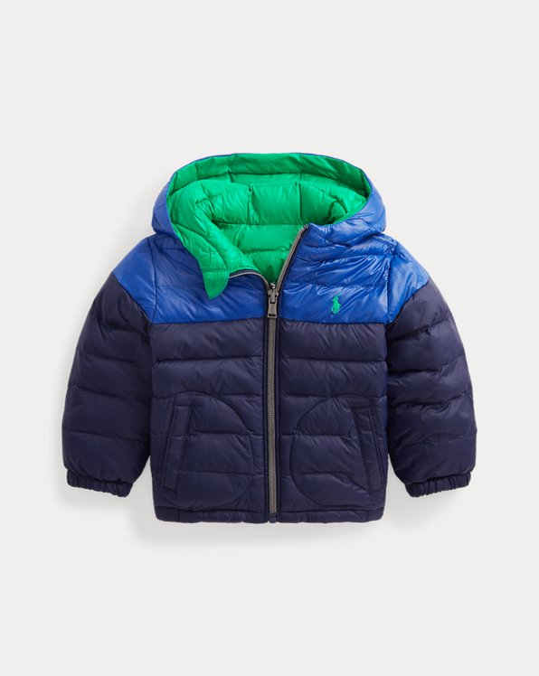 Reversible Water-Repellent Jacket