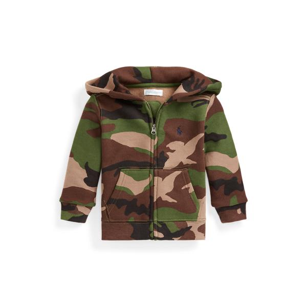 Camo Full-Zip Fleece Hoodie