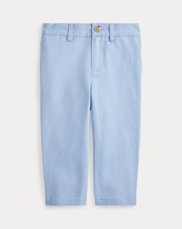 Stretch Cotton Twill Pant