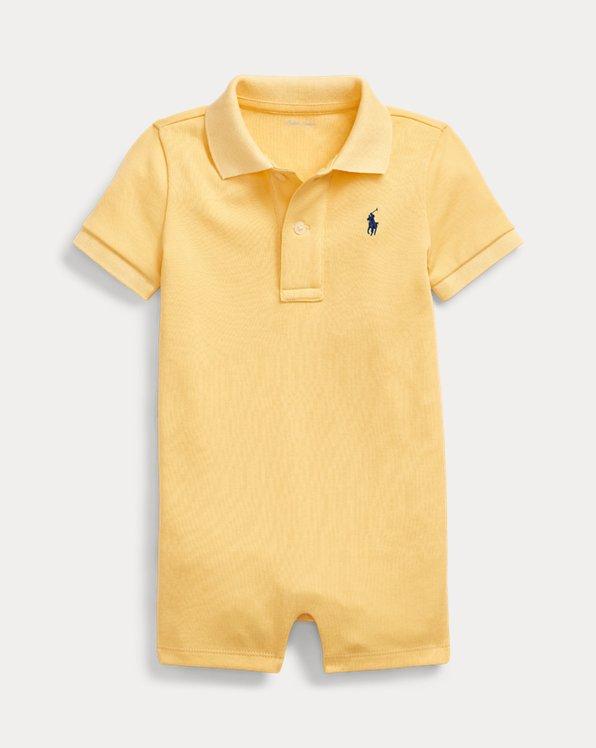 Soft Cotton Polo Shortall
