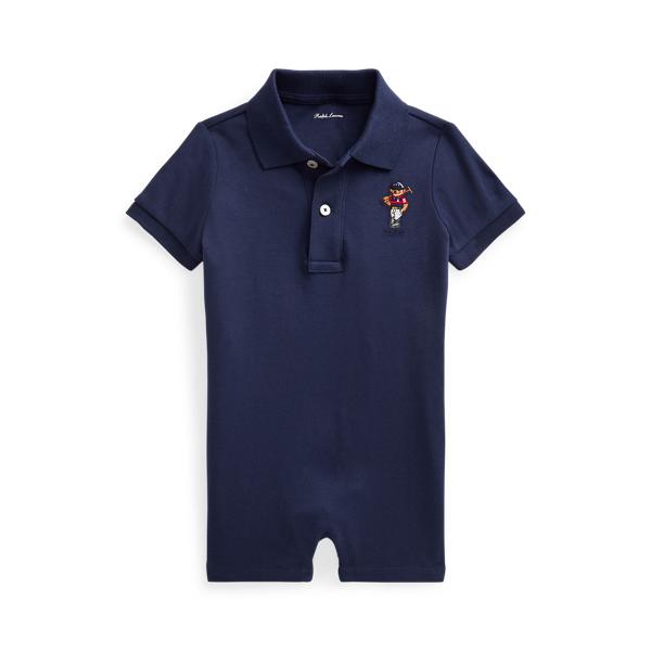 폴로 랄프로렌 Polo Ralph Lauren Polo Bear Soft Cotton Shortall,Newport Navy