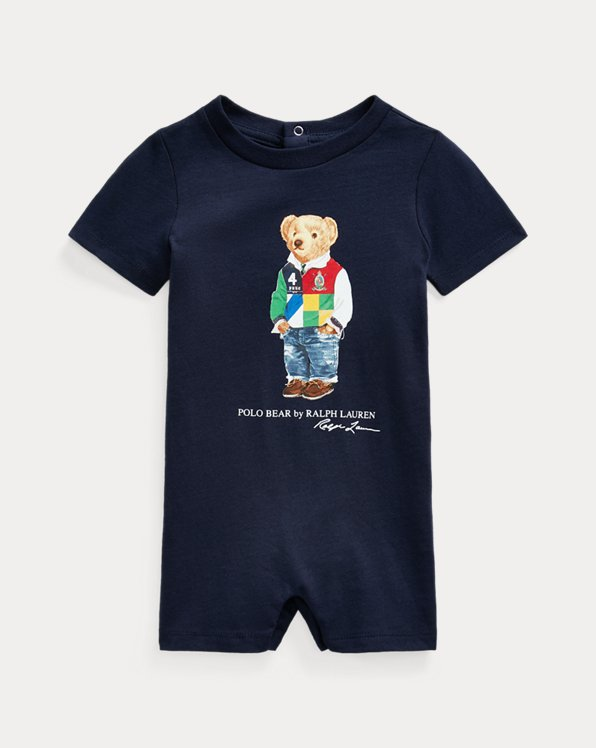Polo Bear Cotton Interlock Shortall