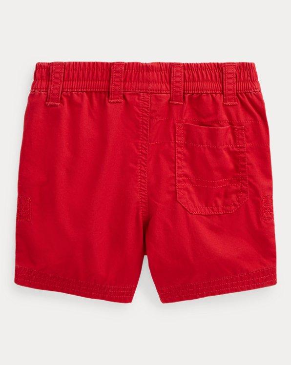 Cotton Twill Pull-On Short