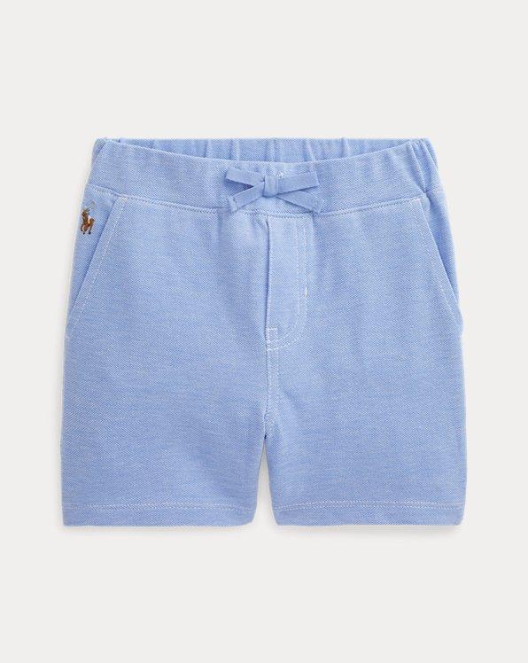 Cotton Mesh Short