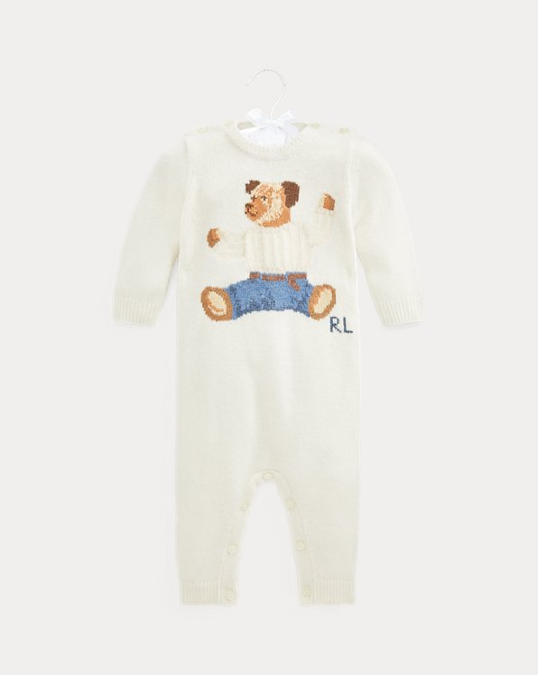 Polo Bear Cashmere-Blend Coverall