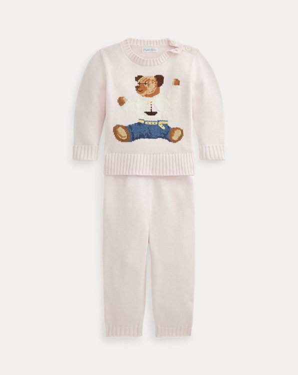 Polo Bear Sweater & Pant Set