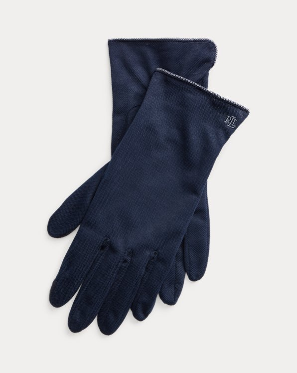 Cotton-Blend Tech Gloves