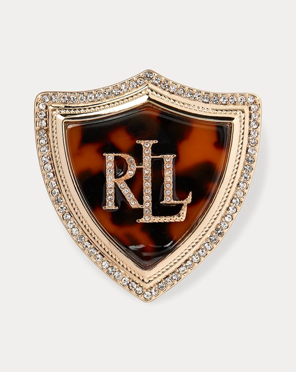 Tortoiseshell Logo Shield Badge