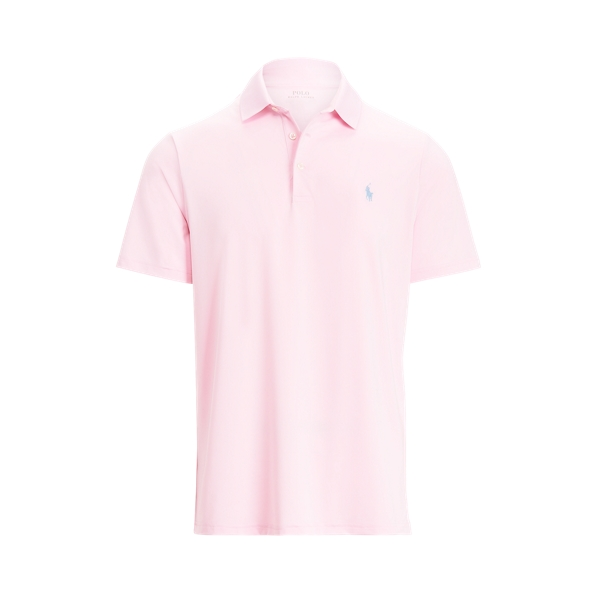 Ralph Lauren Classic Fit Performance Polo Shirt In Pink