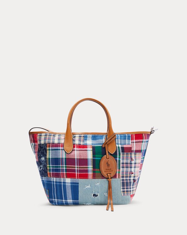 Madras Medium Bellport Tote