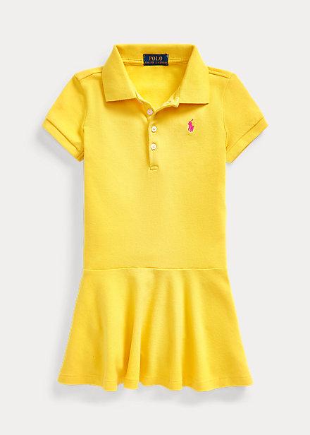 Polo Ralph Lauren Stretch Mesh Polo Dress