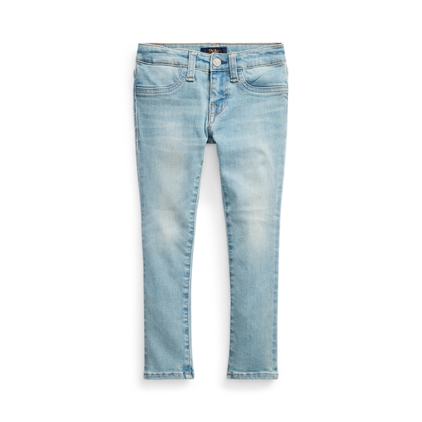 폴로 랄프로렌 여아용 레깅스 Polo Ralph Lauren Aubrie Denim Legging,Rhines Wash