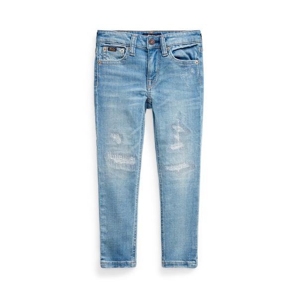 폴로 랄프로렌 여아용  청바지 Polo Ralph Lauren Tompkins Skinny Fit Jean,Etna Wash