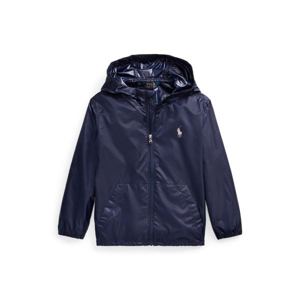 폴로 랄프로렌 여아용 자켓 Polo Ralph Lauren Packable Hooded Jacket,French Navy