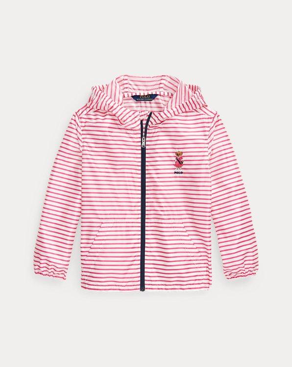 Polo Bear Packable Hooded Jacket