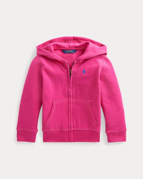Cotton-Blend-Fleece Full-Zip Hoodie