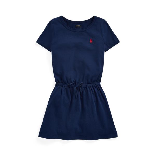 폴로 랄프로렌 여아용 원피스 Polo Ralph Lauren Cotton Jersey Tee Dress,Newport Navy
