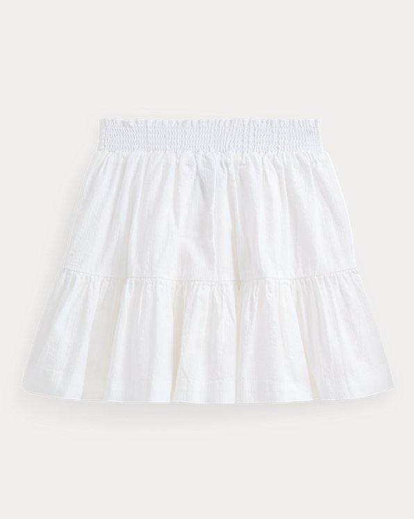 Cotton Seersucker Skirt