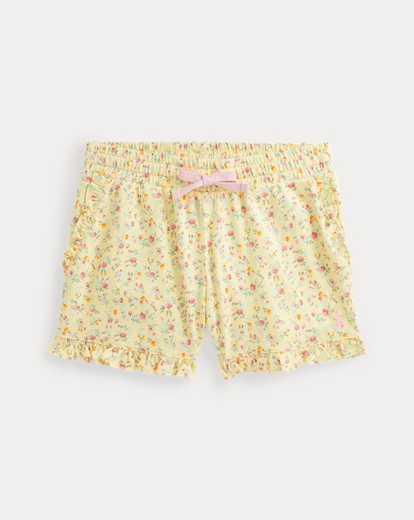 Floral Cotton Jersey Short