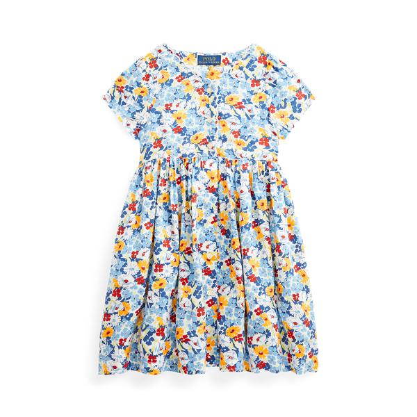 폴로 랄프로렌 여아용 원피스 Polo Ralph Lauren Floral Empire-Waist Dress,Preppy Floral