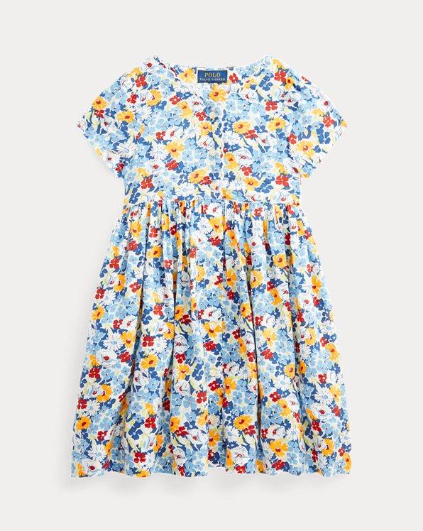 Floral Empire-Waist Dress