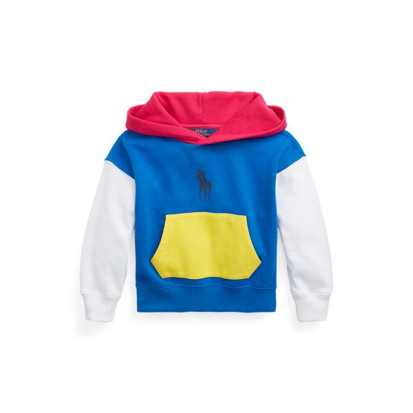 Polo Ralph Lauren Hoodies COLOR-BLOCKED FLEECE HOODIE