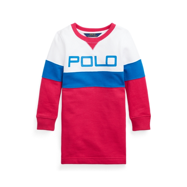 Polo Ralph Lauren LOGO FLEECE TEE DRESS