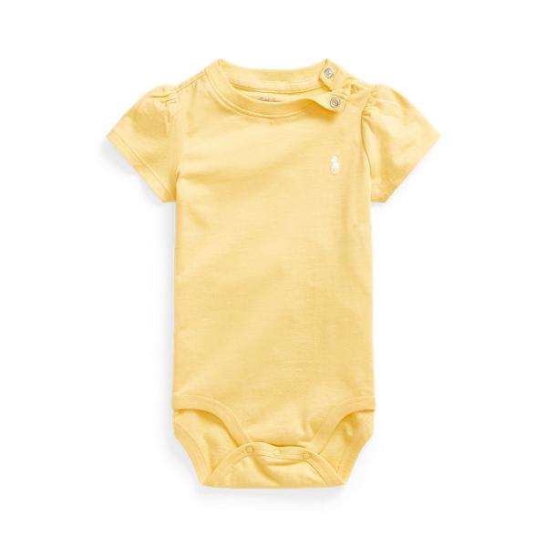 폴로 랄프로렌 Polo Ralph Lauren Jersey Tee Bodysuit,Empire Yellow
