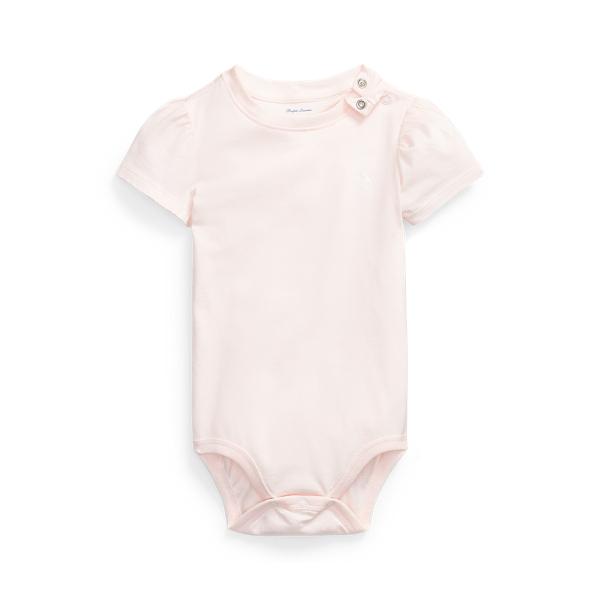 폴로 랄프로렌 Polo Ralph Lauren Jersey Tee Bodysuit,Delicate Pink