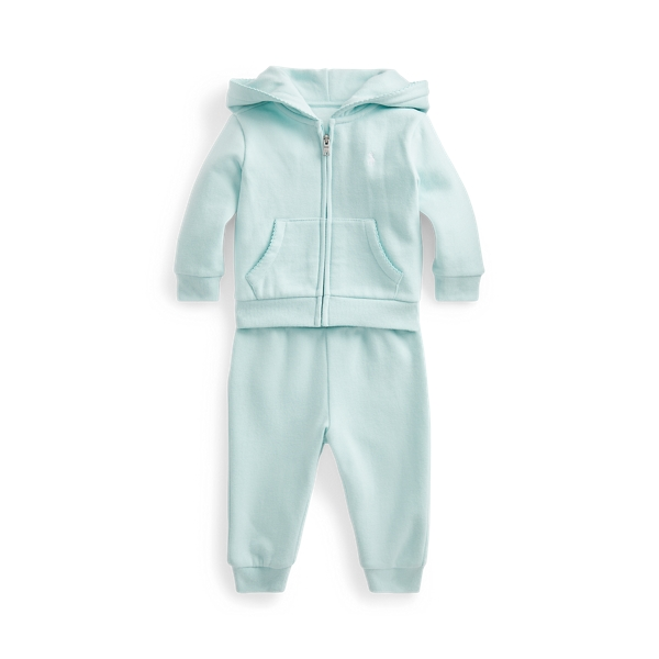 Ralph Lauren FLEECE HOODIE & PANT SET