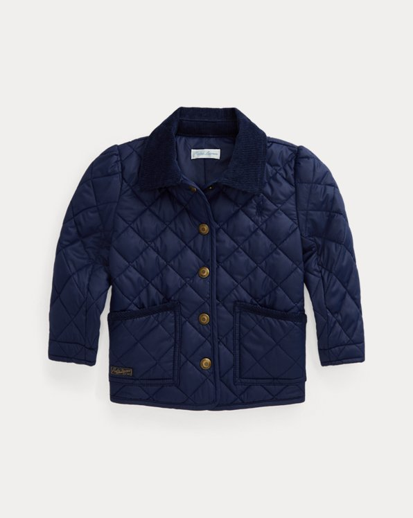 Water-Resistant Quilted Barn Jacket