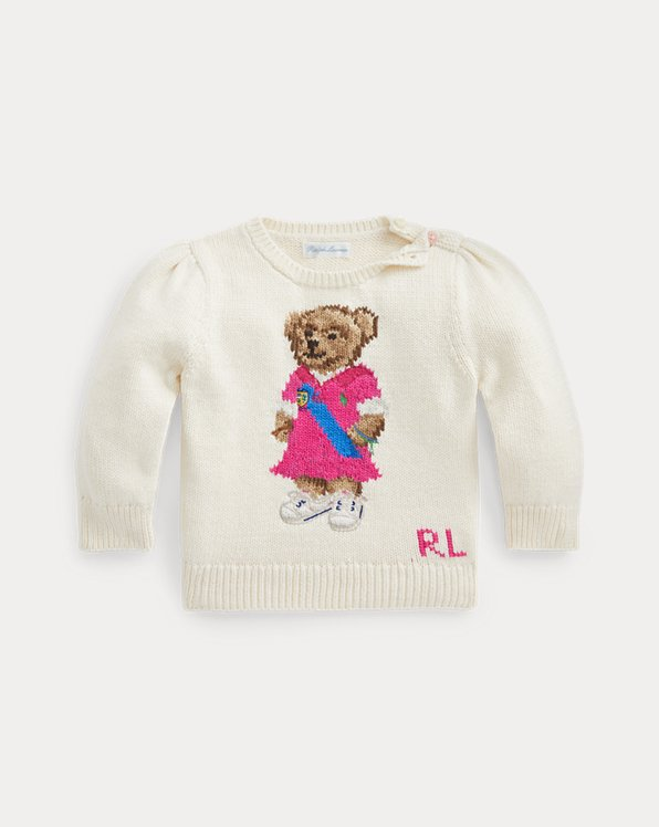Polo Bear Cotton Jumper