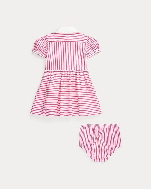 Striped Shirtdress & Bloomer
