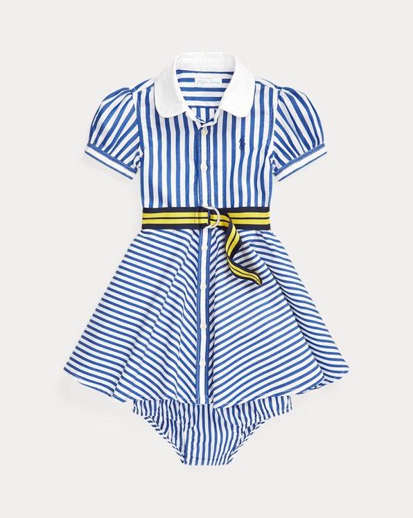Shirtdress, Belt & Bloomer Set
