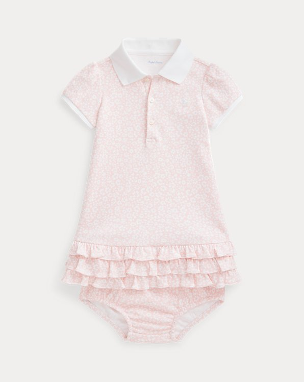 Ruffled Polo Dress & Bloomer
