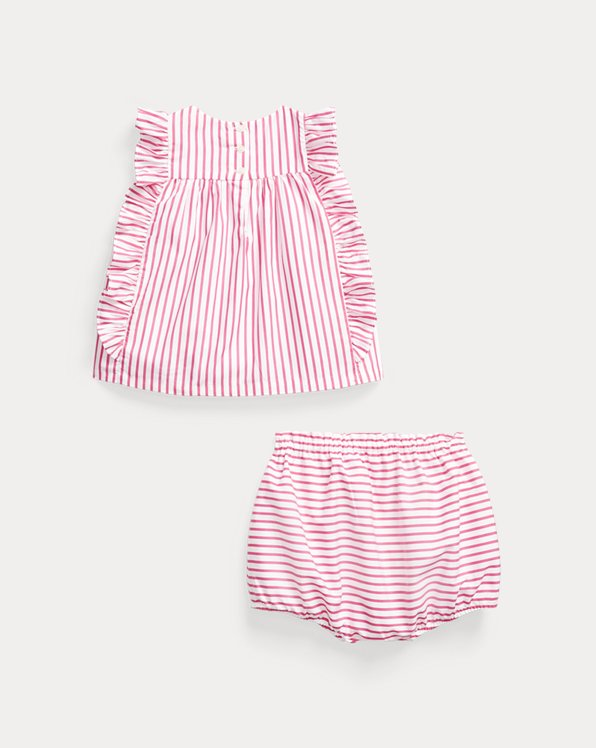 Striped Top & Bloomer