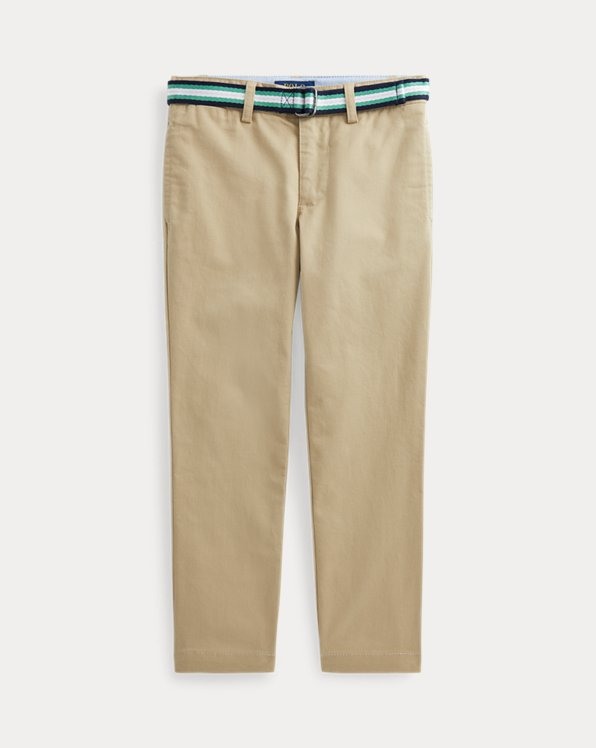 Belted Super Skinny Stretch Chino