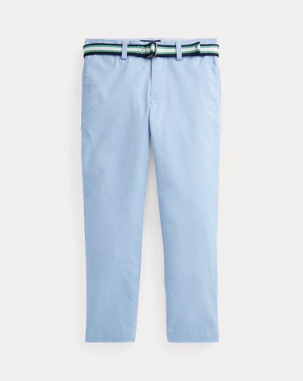 Belted Super Skinny Stretch Chino