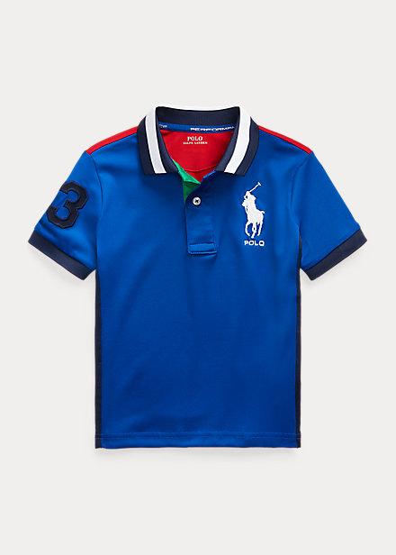 Polo Ralph Lauren Performance Stretch Mesh Polo Shirt