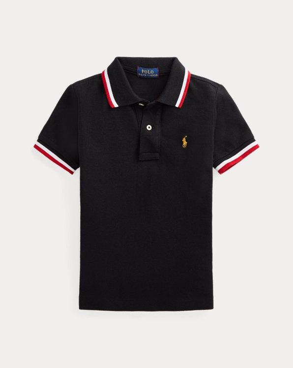Lunar New Year Cotton Mesh Polo Shirt