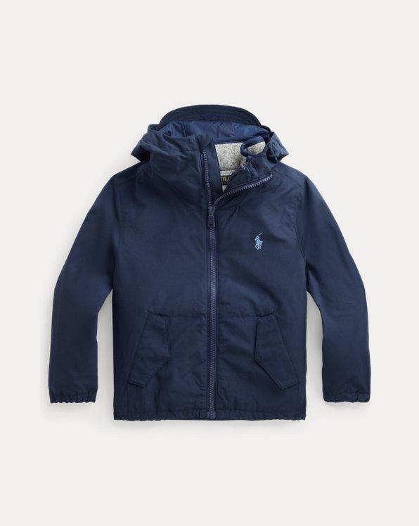 Hooded Jacket & Vest Set