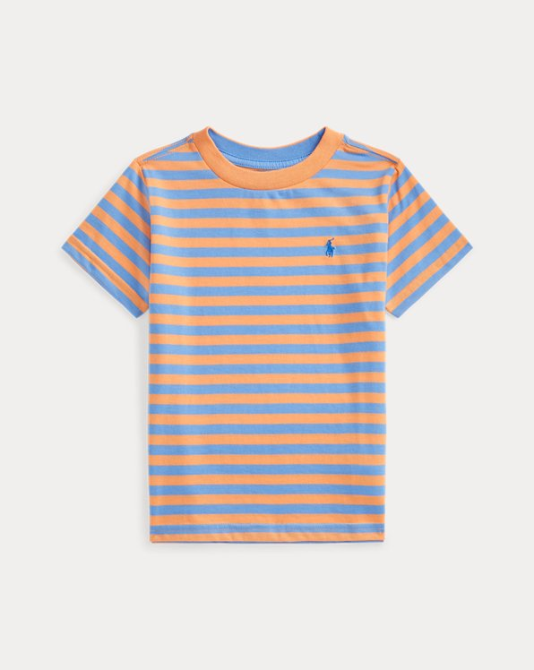 Striped Cotton-Blend Jersey Tee