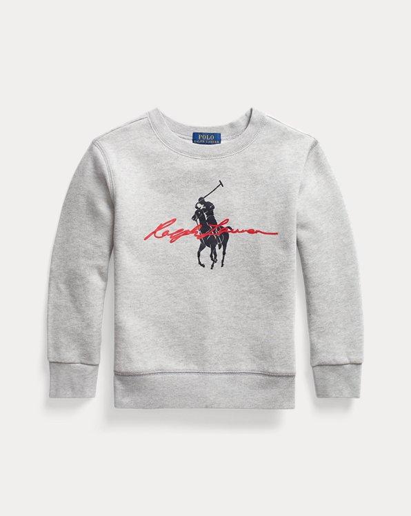 Big Pony Logo Fleece Sweatshirt