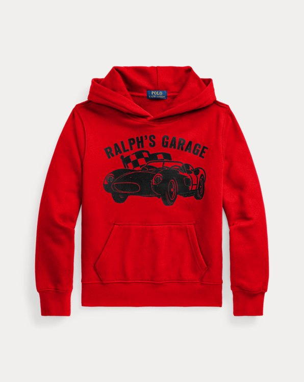 Ralph's Garage Fleece Hoodie