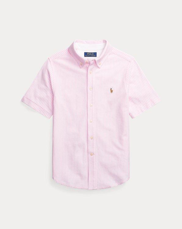 Knit Cotton Oxford Shirt