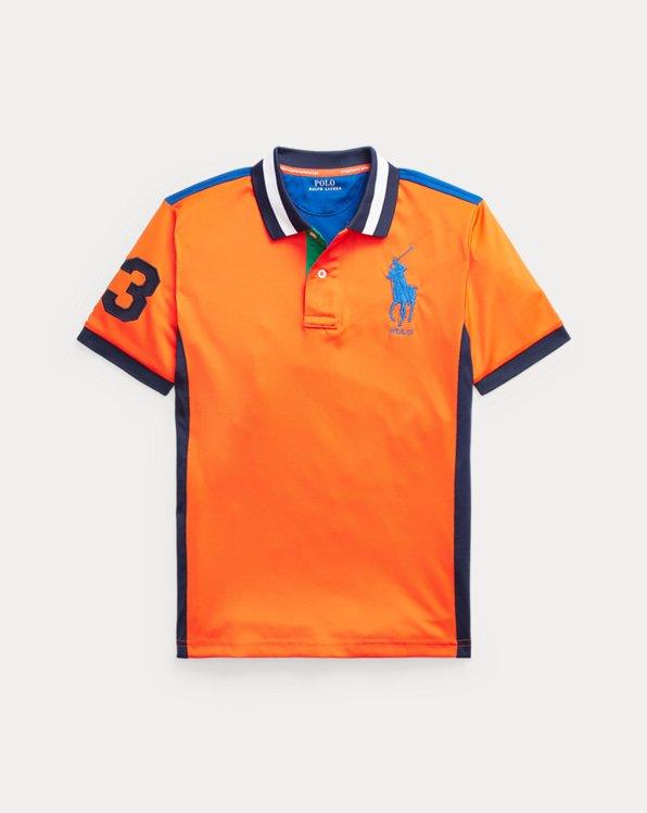 Performance Stretch Mesh Polo Shirt