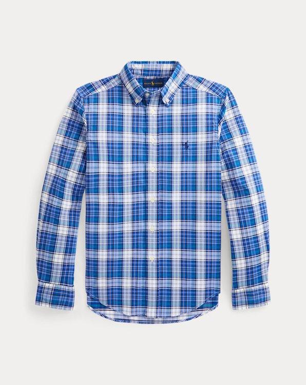 Plaid Performance Twill Shirt
