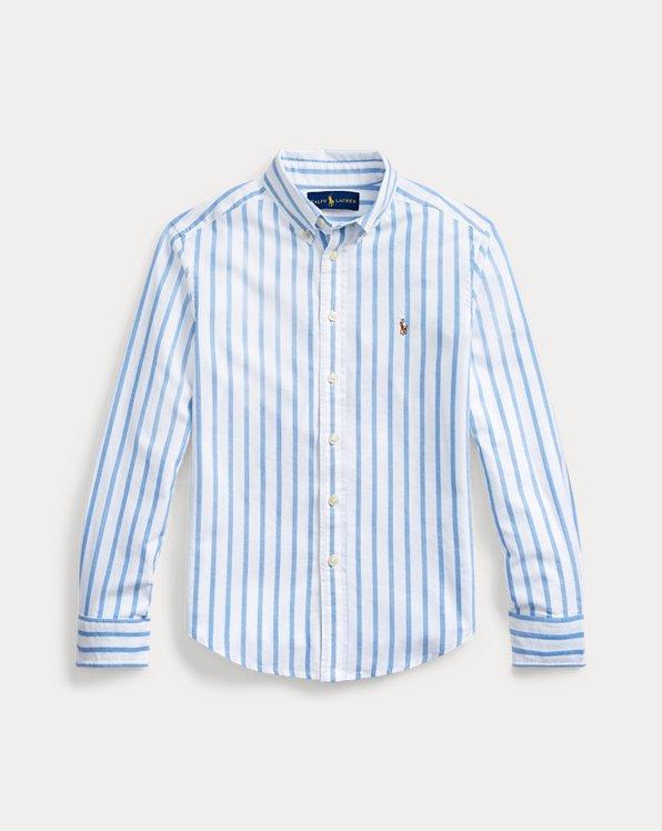 Gestreiftes Hemd aus Baumwolloxford