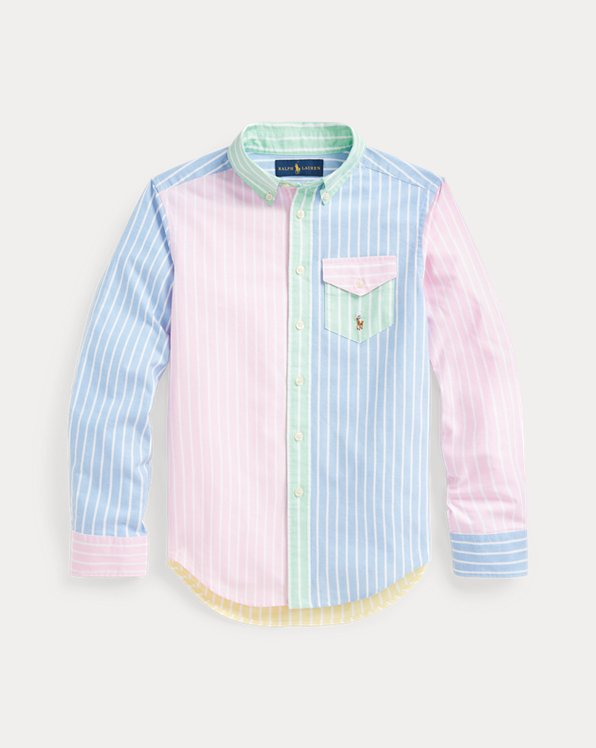 Striped Cotton Oxford Fun Shirt