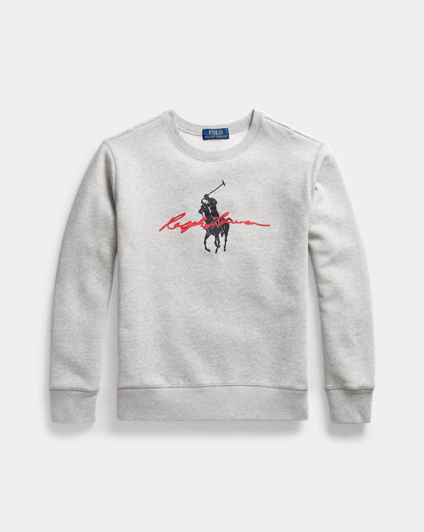 Big Pony Logo Fleece Sweatshirt